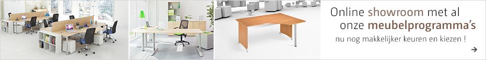 Online showroom met al onze meubelprogramma's nu nog makkelijker keuren en kiezen !
