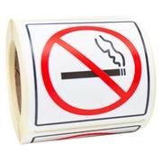 Signalering rokers/niet-rokers - Etiketten op rol