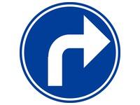 Platte verkeersborden (SAFTC40M13)