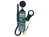 Geluidsmeter / luxmeter / thermometer / hygrometer