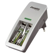 Compact charger, Energizer + 2 HR03 850 mAh batteries