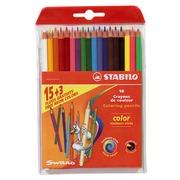 Etui 18 kleurpotloden Stabilo