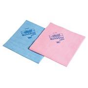 Lavette MicronQuick microfibres bleue - Paquet de 5
