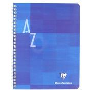 Adresboek spiraal Clairefontaine Metric 17 x 22 cm 100 pagina's