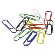 Box von 100 Büroklammern 25 mm - in 4 Farben