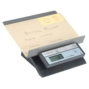 Alba electronic postal scale grey top ABS capacity 5 kg