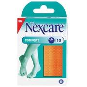 Box of 10 plasters Comfort 3M Nexcare 10 cm x 6 cm