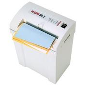 Papierversnipperaar HSM 80.2 snijdt stroken