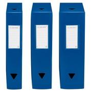 Boîte de classement plastique Viquel dos 10 cm couleurs opaques assorties