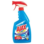 Nettoyant sanitaires Ajax anticalcaire - Spray 750 ml