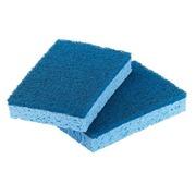 Eponges bleues surfaces délicates - Sachet de 10