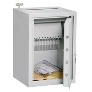 Fireproof safe for money with handle Hartmann 77 liter lock with key