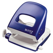 Desk perforator Leitz 2 holes 25 sheets - 2,5 mm - black