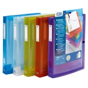 File box polypropylene, translucent colourless, back 4cm