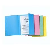 Pack von Ordnungsmappen mit Seitenklappe - Gelb