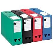 Boîte de classement plastique Viquel dos 12 cm couleurs opaques assorties