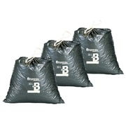 Set 2 x 100 garbage bags 30 liters Bruneau with sliding closure + 1 free
