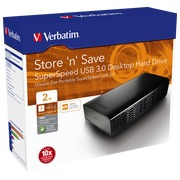 Disque dur de bureau Verbatim Store'n'Save 2To USB 3
