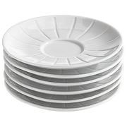Box 6 plates for espressocoffee cups