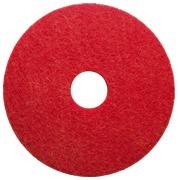 Disk for scrubbing machine Vileda red Ø 430 mm - Set of 5