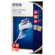 Ultra glazed photo paper Epson 20 sheets A6 300g C13S041926