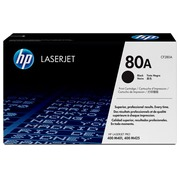 HP 80A - Schwarz - Original - LaserJet - Tonerpatrone ( CF280A )