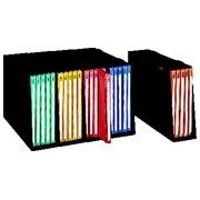 Set von 5 Boxen mit 15 farbig sortierten Mappen