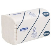 Box of 1860 hand wipers z-folded Kleenex Airflex Ultra