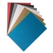 Couverture de reliure carton 270 g Clairefontaine couleurs assorties - Paquet de 100