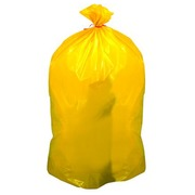 Behälter mit 200 Müllsäcken 110 liter selektiver Müll gelb
