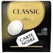 Dosettes de café Carte Noire Classique - Paquet de 36