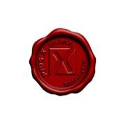 LAKSTEMPEL diameter 30mm - met logo