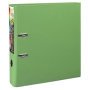 Plastic lever arch file Exacompta Prem Touch A4+ back 8 cm aniseed green