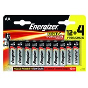 Blister 12 batteries + 4 for free LR06 Energizer Max