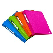 Folder 4 rings plastic Elba Art Pop A4 back 4 cm assorted colours