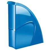 Tijdschriftenhouder Cep Gloss kleuren rug 8,5 cm - blauw