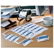 Inserts microperforés Avery pour badge 148 x 105 mm - Boîte de 100