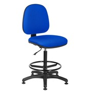 Chair Office tissue blue – standard mechanism– high back