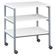Side table 3 trays grey 2 colours