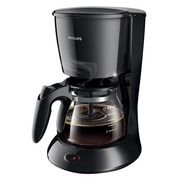 Philips Daily Collection HD7432 - coffee maker - black