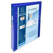 Kreacover PP Ring Binder, A4 Maxi, 2 D rings 25mm - Blue (51826BE)