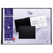 Vega Showalbum met vaste rug PVC - 20 tassen - 40 zichten -A3