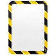 Pochettes adhésives sécurité A4 TARIFOLD jaune - Lot de 2