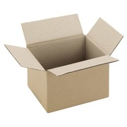 American box brown kraft single groove W 20 x D 20 x H 11 cm