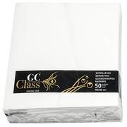 Niet geweven servetten wit 40 x 40 cm - Lot van 50