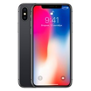 Apple iPhone X - spacegrijs - 4G LTE, LTE Advanced - 64 GB - GSM - smartphone