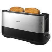 Philips Viva Collection HD2692 - toaster - black