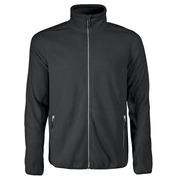 Printer Rocket Fleece Jacket Bright Black 4XL