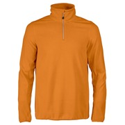 Printer Railwalk Fleece halfzip Bright Orange 4XL