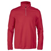 Printer Railwalk Fleece halfzip Bright Rood 4XL